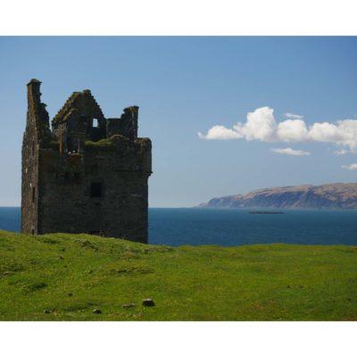 Landscapes – Castle & cloud, Kerrera, Scotland (2017)